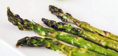 Asparagus with Sea Salt